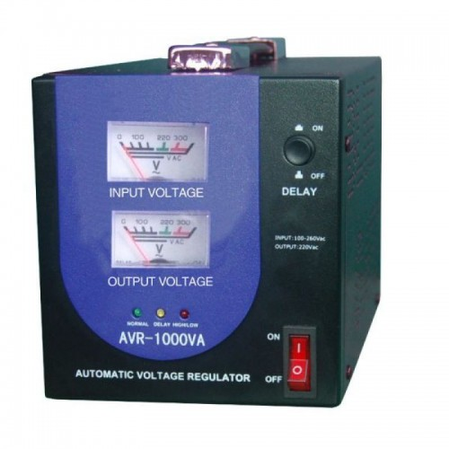 Stabilizator de tensiune cu relee Braun Group 1000 VA/600 W