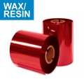 Ribon LC40 60mm x 300m, rosu, OUT