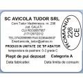 Etichete semilucioase AVICOLA, piept dezosat, 58x43 mm