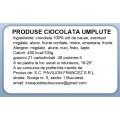 Etichete autoadezive PAVILION, produse ciocolata umplute, 50x32 mm