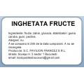 Etichete autoadezive PAVILION, inghetata fructe, 50x32 mm