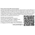 Etichete semilucioase AHD Pasta de dinti, 50x32 mm