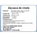 Etichete semilucioase Nicos etichete zacusca, 58x43 mm