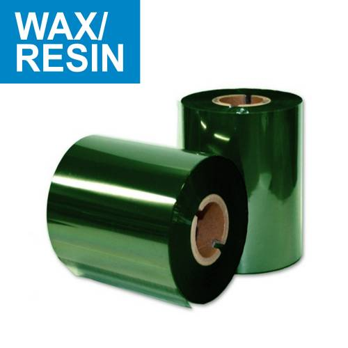 Ribon LC70 110mm x 300m verde OUT