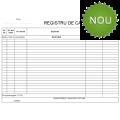 Registru casa, 2ex/set, 100set/car (capsat stanga)