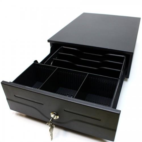 Sertar de bani metalic Metapace K-4 negru