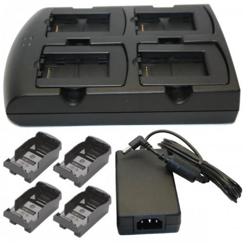 Cradle incarcare acumulatori Zebra MC3200 4 sloturi