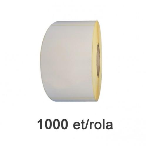 Role de etichete semilucioase 104x185mm 1000 et./rola