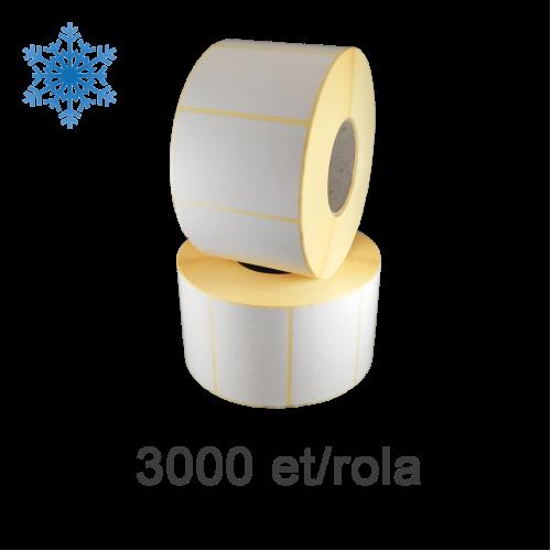 Role de etichete termice 80x40mm Top Thermal pentru congelate 3000 et./rola