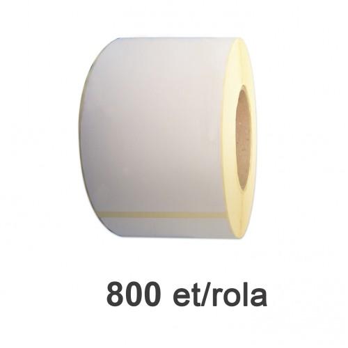 Role de etichete semilucioase 148x210mm A5 800 et./rola