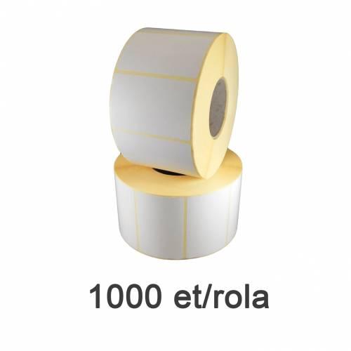 Role de etichete termice 58x43mm 1000 et./rola