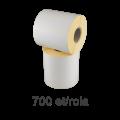 Role de etichete semilucioase 100x70mm, 700 et./rola