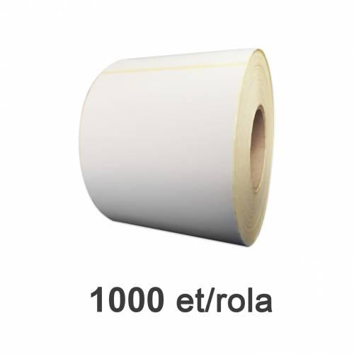 Role de etichete semilucioase 100x150mm 1000 et./rola