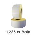 Role de etichete termice 70x30mm, 1225 et./rola