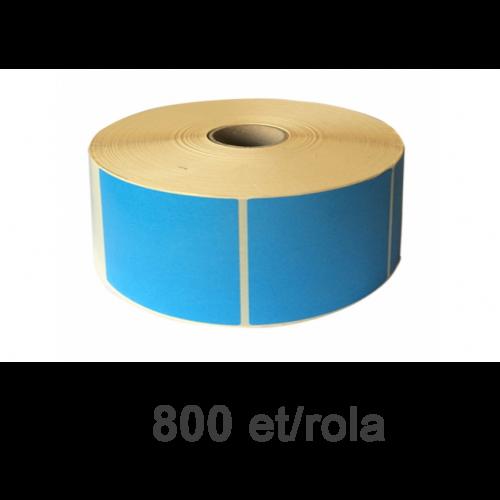 Role de etichete termice albastre 148x210mm PANTONE 2707 800 et./rola