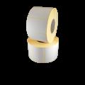 Role de etichete semilucioase albe 68x25mm, 1500 et./rola