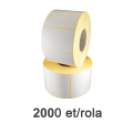 Role de etichete termice ZINTA 40x24mm, 2000 et./rola