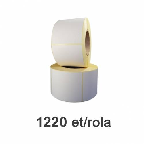 Role de etichete semilucioase 100x120mm 1220 et./rola