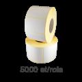 Role de etichete semilucioase 50x32mm, 5000 et./rola
