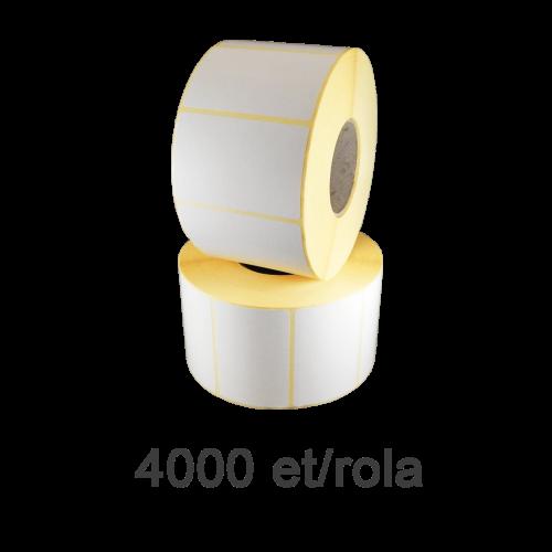 Role de etichete semilucioase 50x40mm 4000 et./rola