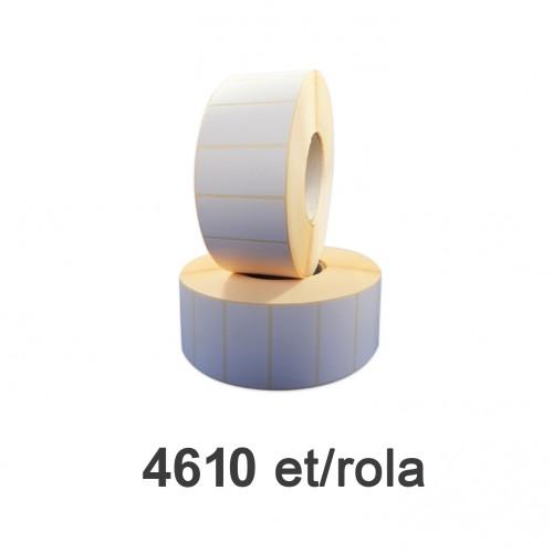 Role de etichete semilucioase 60x30mm 4610 et./rola