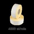 Role de etichete semilucioase 40x30mm, 4600 et./rola