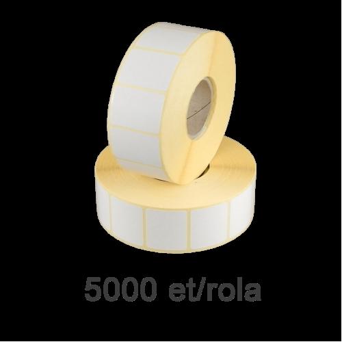 Role de etichete semilucioase 89x23mm 5000 et./rola