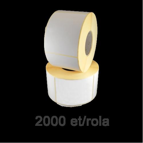 Role de etichete semilucioase 110x99mm 2000 et./rola