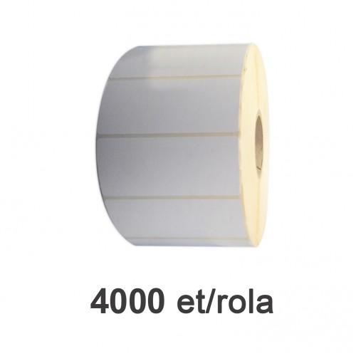 Role de etichete semilucioase 100x40mm 4000 et./rola