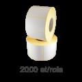 Role de etichete termice 40x21mm, 2000 et./rola