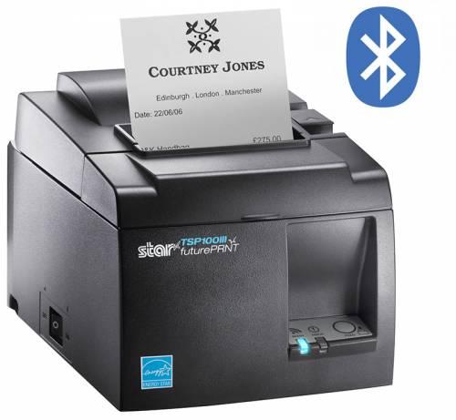 Imprimanta Termica Star Tsp143iiibi Bluetooth Neagra