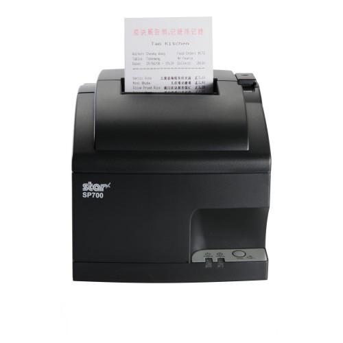 Imprimanta matriciala Star SP742ME3 Ethernet neagra