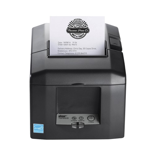 Imprimanta termica Star TSP654II AirPrint alimentator negru