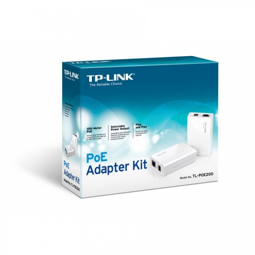 Kit adaptoare PoE TP-LINK TL-PoE200