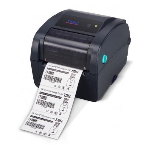 Imprimanta de etichete TSC TC200 203DPI Ethernet albastra