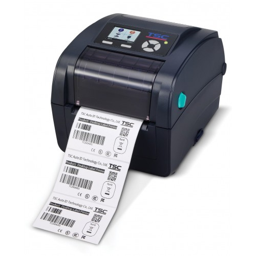 Imprimanta de etichete TSC TC310 300DPI Ethernet USB Host albastra