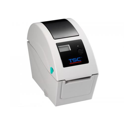 Imprimanta de etichete TSC TDP-324 300DPI LCD alba