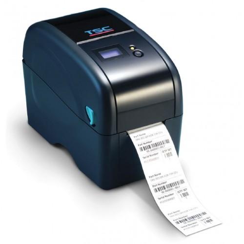 Imprimanta de etichete TSC TTP-323 300DPI albastra