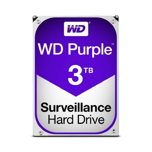 "HDD intern WD 3TB 3.5"" SATA3 5400rpm 64MB Purple"
