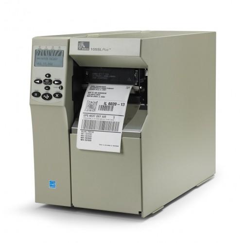 Imprimanta de etichete Zebra 105SL Plus 300DPI rewinder peeler