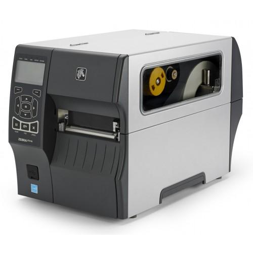 Imprimanta de etichete Zebra ZT410 300DPI rewinder peeler