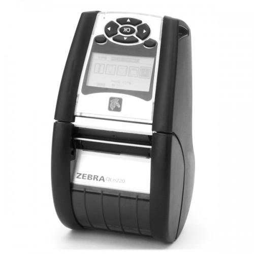 Imprimanta mobila de etichete Zebra QLn220 203DPI Wi-Fi Linerless