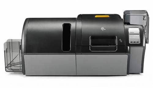 Imprimanta de carduri Zebra ZXP9 dual side laminare dual side MSR RFID LCD Ethernet
