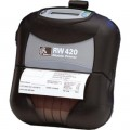 Imprimanta mobila de etichete Zebra RW420, alimentare externa [RECONDITIONATA]