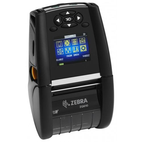 Imprimanta mobila de etichete Zebra ZQ610 Wi-Fi bat. ext.