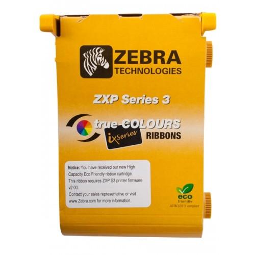 Ribon color Zebra ZXP3 YMCKOO