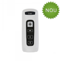 Cititor coduri de bare Zebra CS4070-HC, 2D, Bluetooth, Kit USB, alb