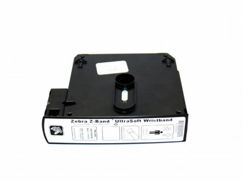 Bratari De Identificare Zebra Z-band Ultrasoft 25x279mm Albe Cutie 1050 Buc Piele Sensibila