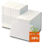 Card PVC Zebra Premier, CR80, 30mil, alb