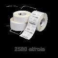 Role de etichete Zebra Z-Perform 1000T 51x25mm, 2580 et./rola
